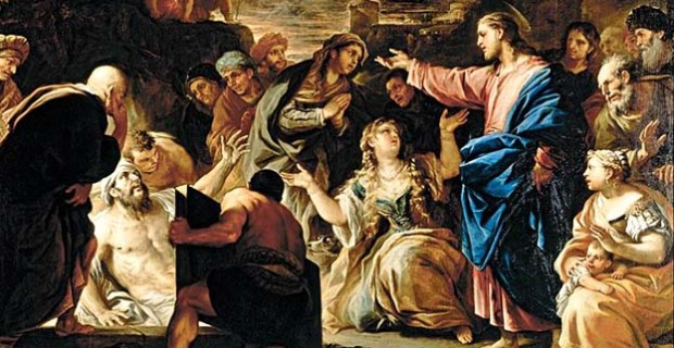 The Raising of Lazarus 1675 Luca Giordano